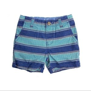 Carter's Striped Kids Cotton Shorts | 18 Months